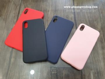 Ốp dẻo Memumi Liquid iPhone X / Xs / Xs Max